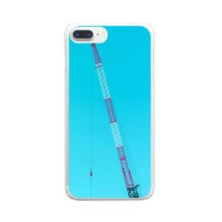 釣り人 Clear smartphone cases