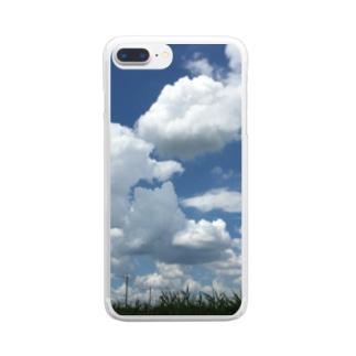 夏空 Clear smartphone cases