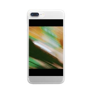 ブレブレ Clear smartphone cases