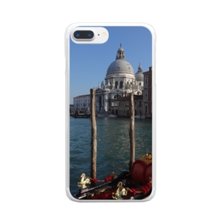 The World Trip ~ヴェネツィア1~ Clear smartphone cases
