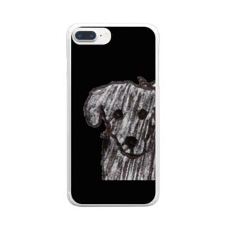 顎ちゃん Clear smartphone cases
