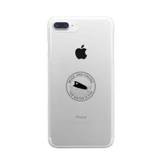 釣りTシャツ トップウォーター Clear smartphone cases