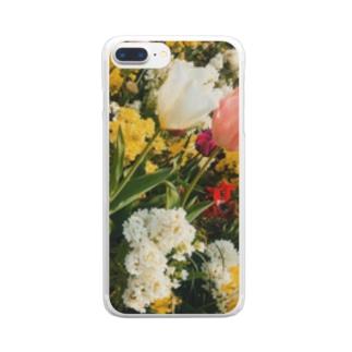 おはなばたけ Clear smartphone cases