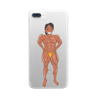 よっ!れいぞうこ! Clear smartphone cases