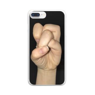 これ春日以外もできるからな Clear smartphone cases