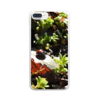 てんとうむし Clear smartphone cases
