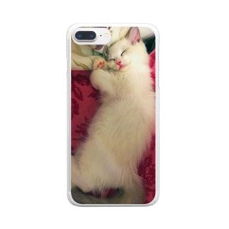 みるく Clear smartphone cases