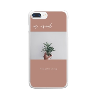 us usual  Clear smartphone cases