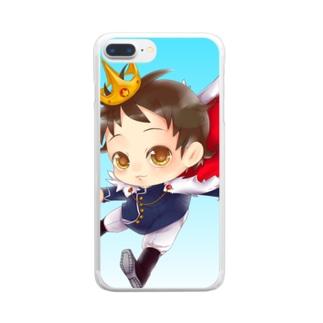 スマホケースかくしゅ★☆ Clear smartphone cases