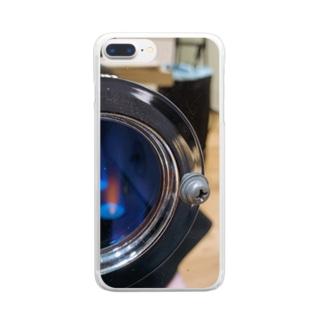 焙煎機1 Clear smartphone cases