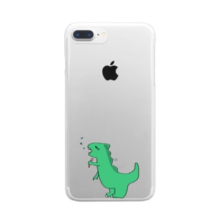 DINO Clear smartphone cases