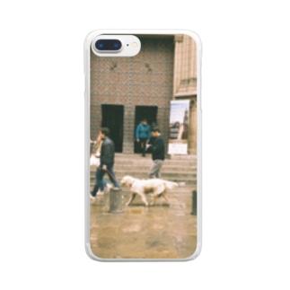 Golden retriever Clear Smartphone Case