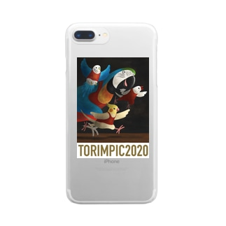 TORIMPIC2020 Clear smartphone cases