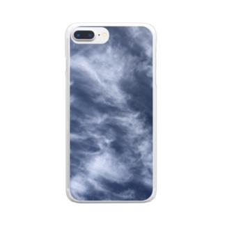 ブルースクリーン Clear smartphone cases