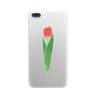 🌷tulip🌷 Clear smartphone cases