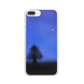 星空 スマホケース2 Clear smartphone cases