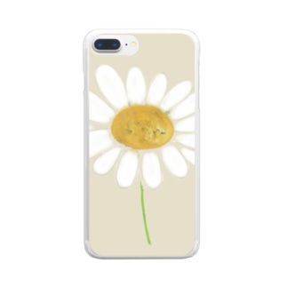 🌼chamomile🌼 Clear smartphone cases