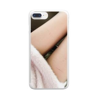 ストッキング Clear smartphone cases
