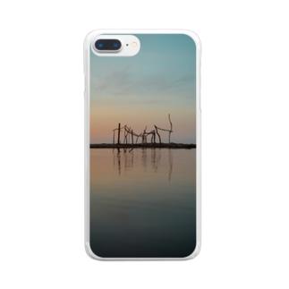 おしゃれなスマホケース Clear smartphone cases