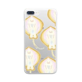 モモモのエイ裏の神秘 Clear smartphone cases