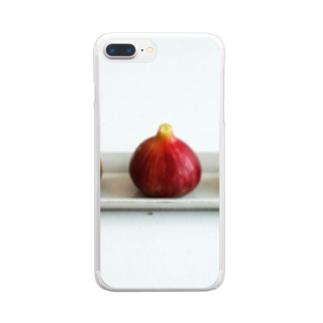 三つ子のスライム Clear smartphone cases