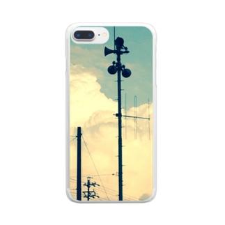 よぴ屋の初夏に撮ったスピーカーみたいなヤツ Clear smartphone cases