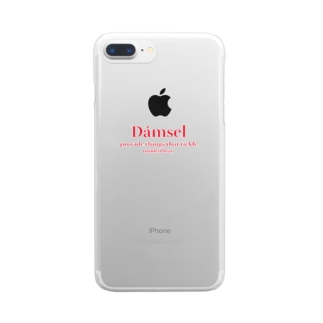 dámsel ss2 Clear smartphone cases