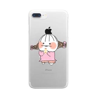 でぱ子 Clear smartphone cases