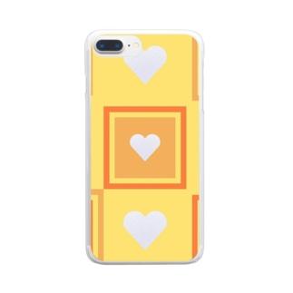 金運アップ‼(廻) Clear smartphone cases