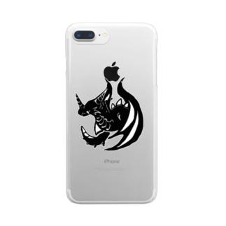 カゲ ト イキル Clear smartphone cases