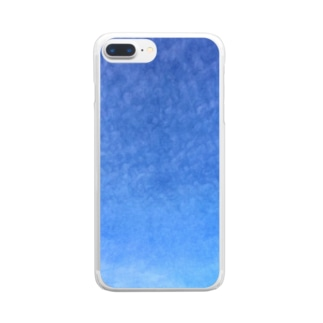 cirrocumulus  うろこ雲 Clear smartphone cases