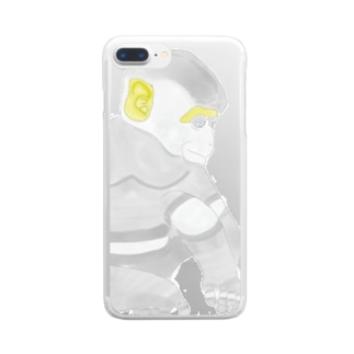 monkey Clear smartphone cases