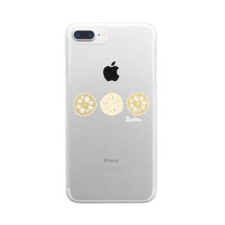 れんこん〜Renkon〜 Clear smartphone cases