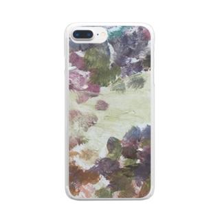 あなたの声を聞きながら Clear smartphone cases