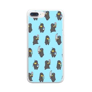 ベンジャミンと夏 Clear smartphone cases