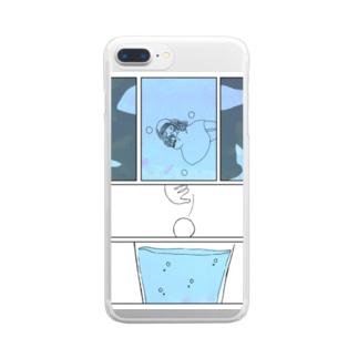 loop.water Clear smartphone cases
