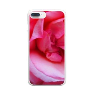 恋近し Clear smartphone cases