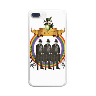 カフカ3 Clear smartphone cases