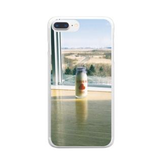 きりたっぷ Clear smartphone cases