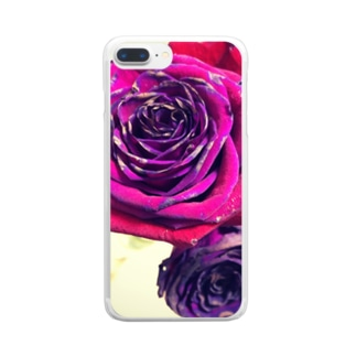 roses Clear smartphone cases