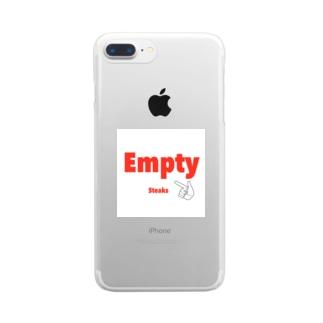 Empty スマホケース Clear smartphone cases