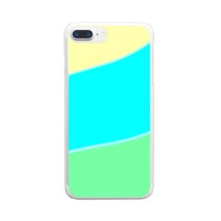 AIRの癒しの色彩😊 Clear smartphone cases