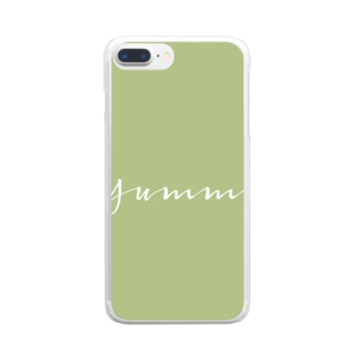 Yummy Clear smartphone cases