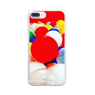 ボールプール Clear smartphone cases