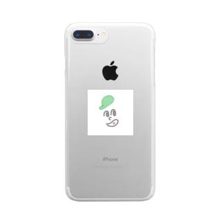 ぼーい。 Clear smartphone cases