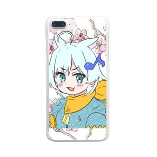 ユリスの実況 Clear smartphone cases