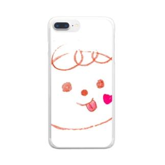 aki♡の赤ちゃん。 Clear smartphone cases