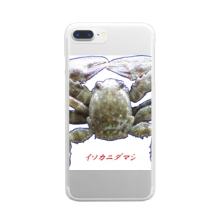 shimaの隠岐 イソカニダマシ Clear smartphone cases