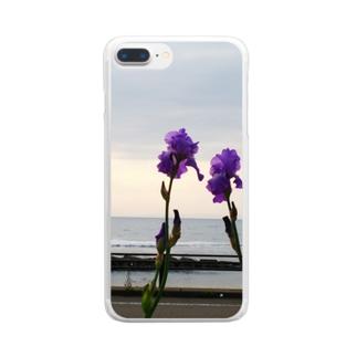 あやめ Clear smartphone cases