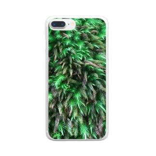モスモス Clear smartphone cases